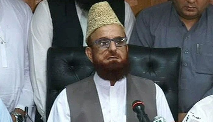 mufti muneeb now is in fourth schedule