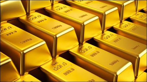 A sudden drop in world gold prices