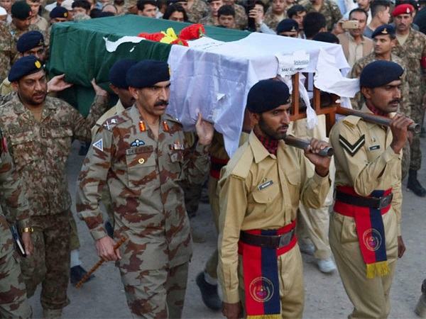 Seven soldiers martyred in two terrorist incidents
