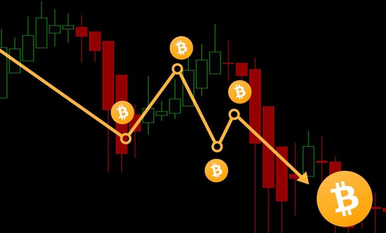 Bitcoin price falls: Crackdown in China