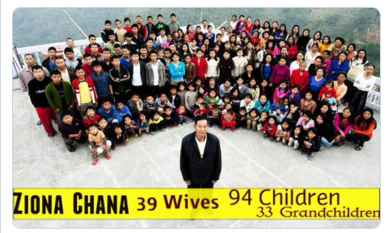 A man with Thirty-nine wives died