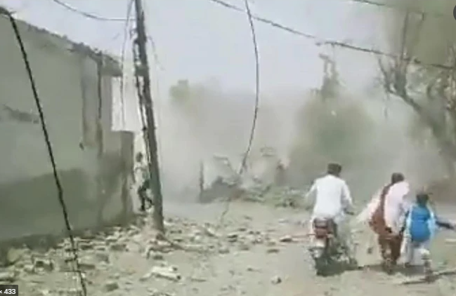 Explosions in Johar Town area of Lahore