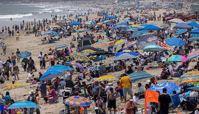 Record-breaking heat wave in the United States