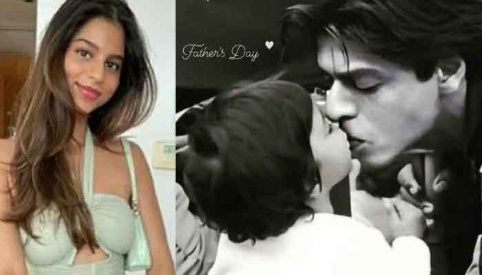 Shah Rukh Khan's daughter's wonderful gift for father
