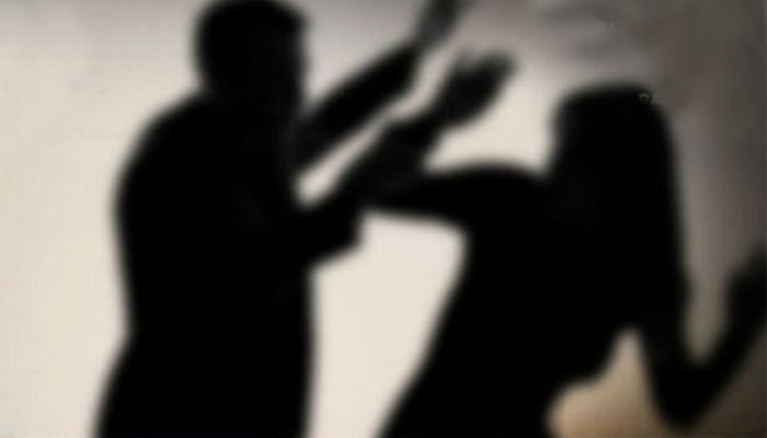 Husband arrested for torturing wife in front of children